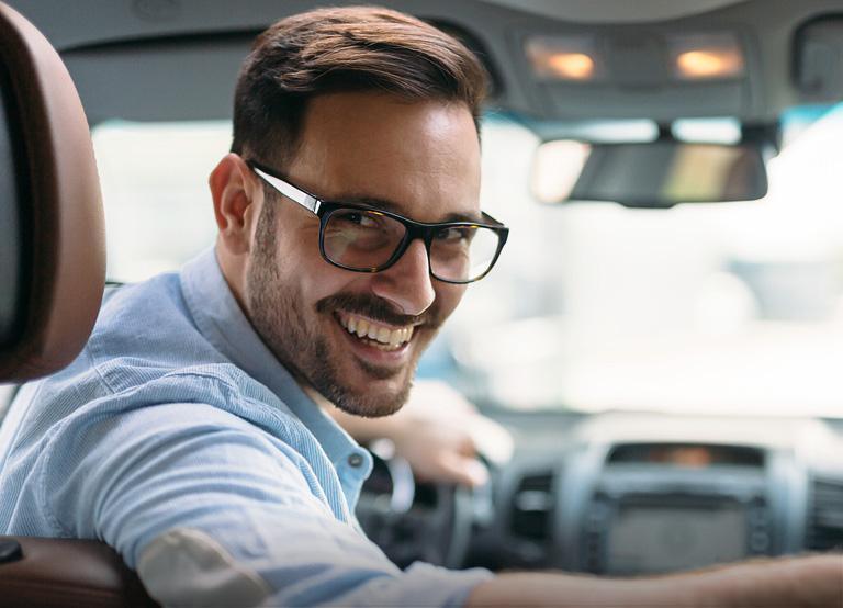 Okulary dla kierowców idokomputera