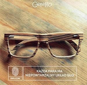drewniane oprawki marki Gepetto