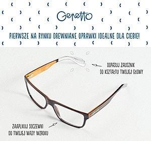 drewniane okulary Gepetto
